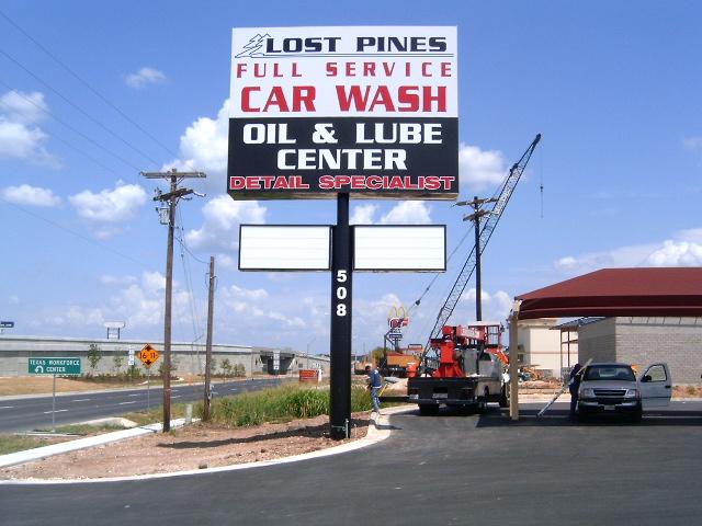 Lost Pines Car Wash
