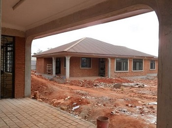 The Good Shepherd School & Orphanage near Completion