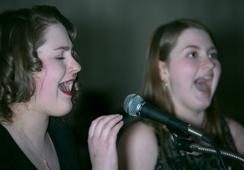 Grace & Rebecca Lukachinski (student performers)