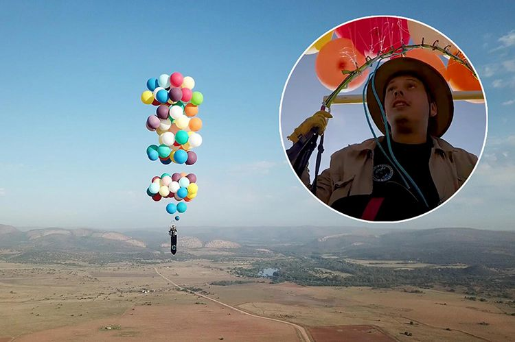 The real-life 'Up'