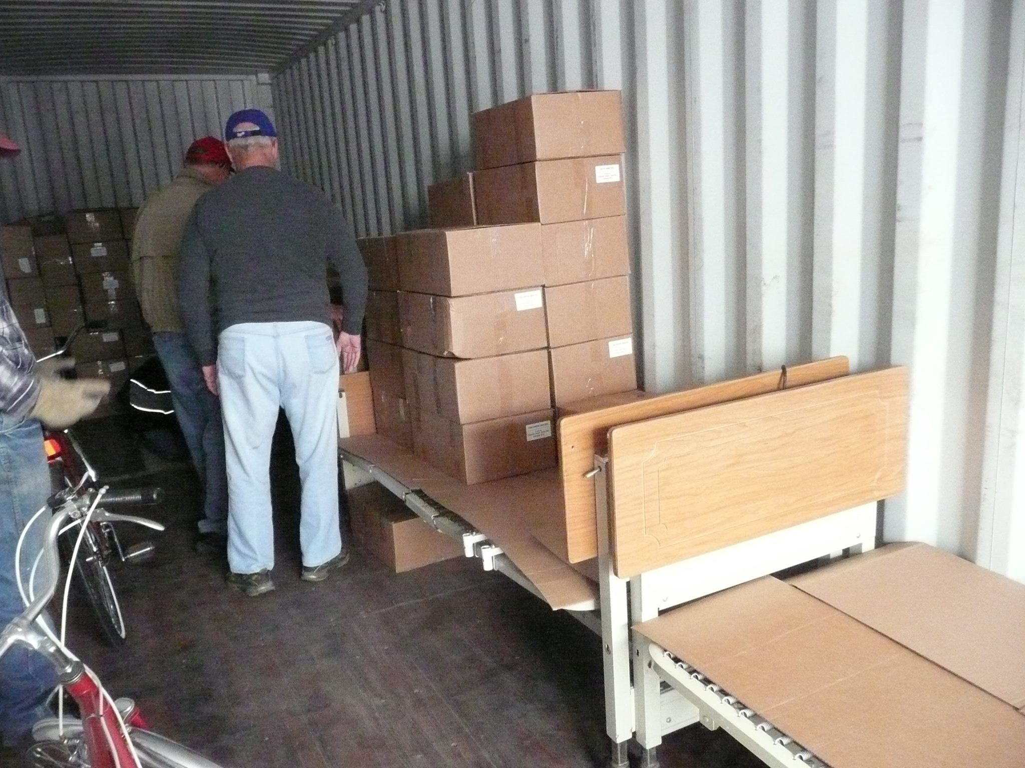 Central Nebraska Branch Volunteers Were Busy Loading Goods For Pastor Artis  Eglitis In Cesis, Latvia. Pastor Eglitis Started Gaugaslici Ministry Which  ...