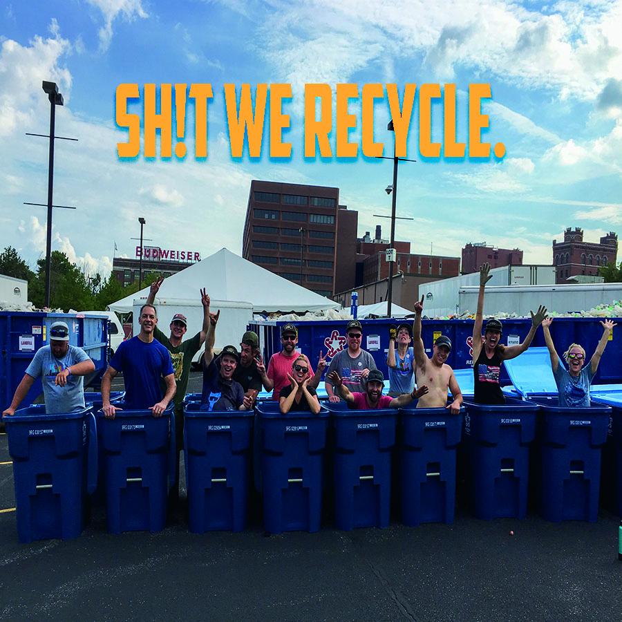 Recycling Like Rockstars