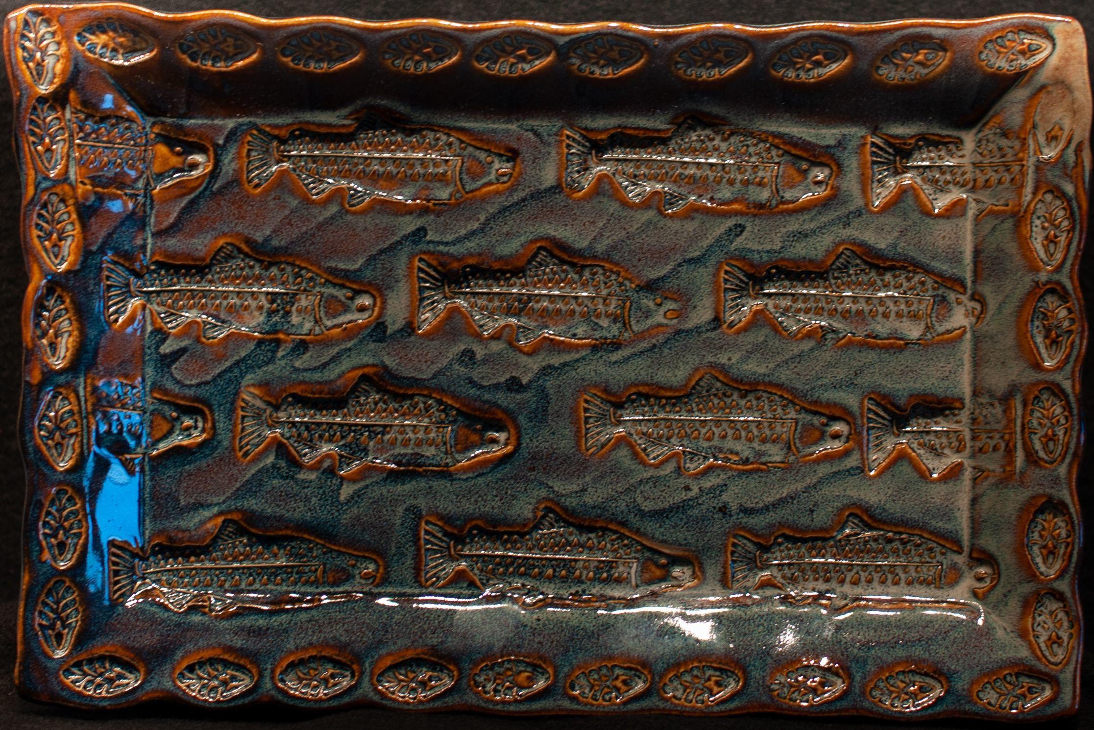 """""""Salmon Platter"""" - Mary Hardcastle Gebhard"""