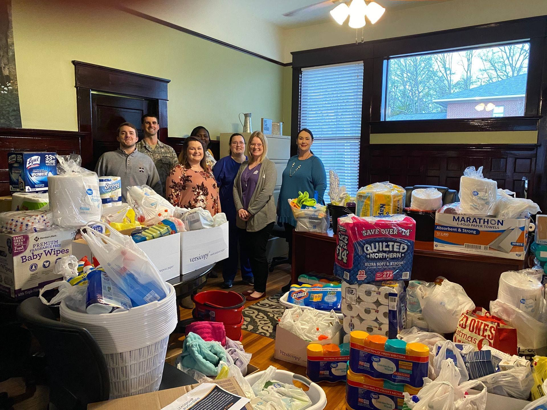 Organize a Donation Drive