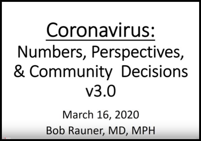 March 16, 2020 Update