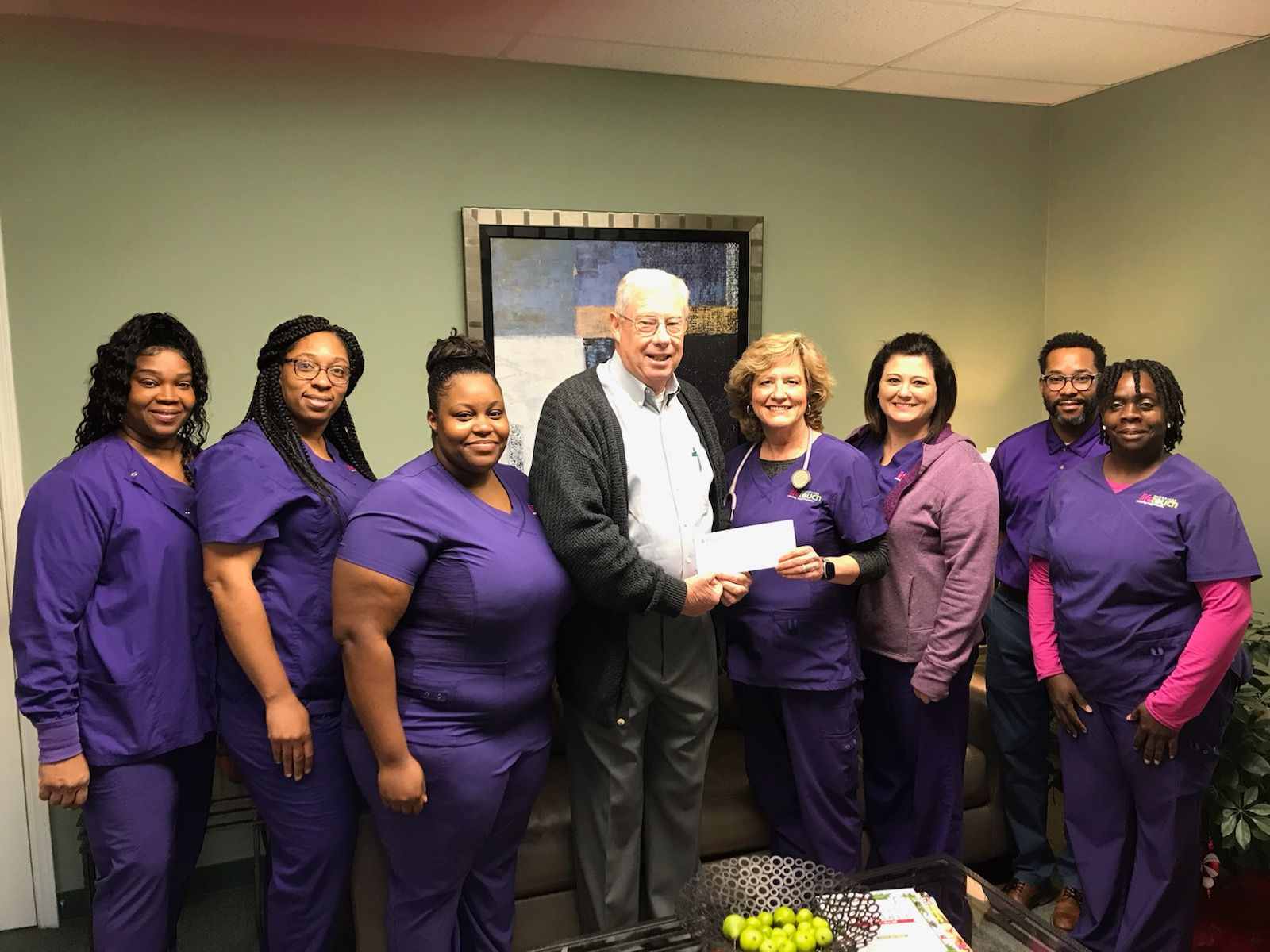 Life Touch Hospice Receives Grant from Weyerhaeuser