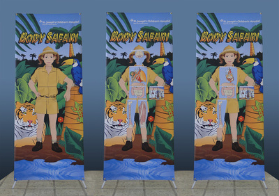 3 in 1 Pull Up Banner