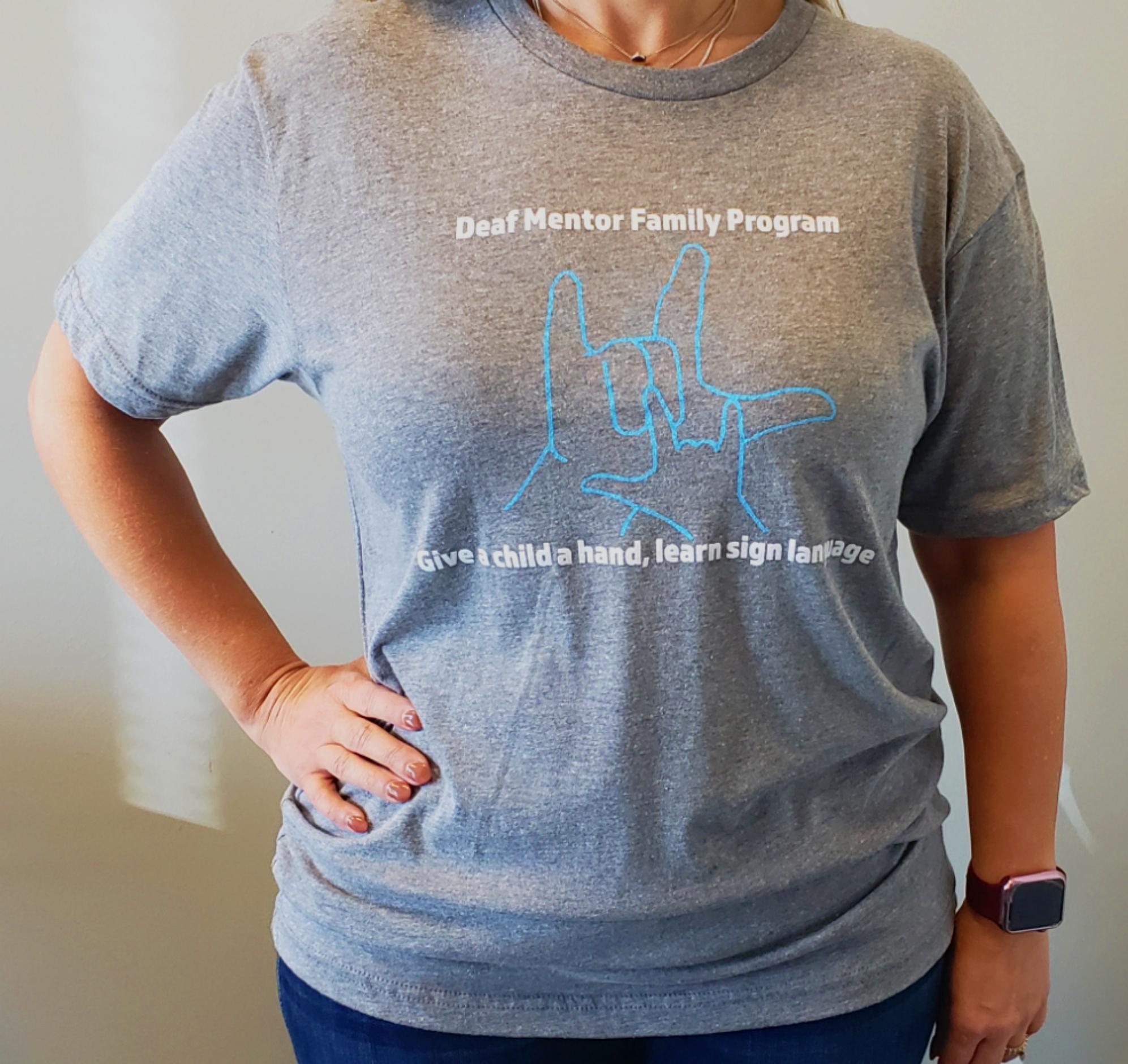 Small DMFP T-Shirt - Gray