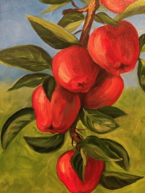 Fall Paint Party: Apples