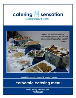 Corporate Catering Menu