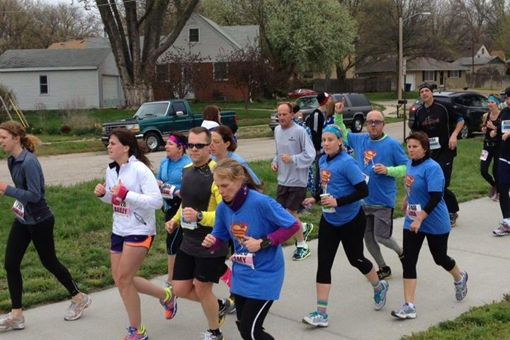 Lincoln half marathon supporters! Thank you!! Congrats on a great finish!