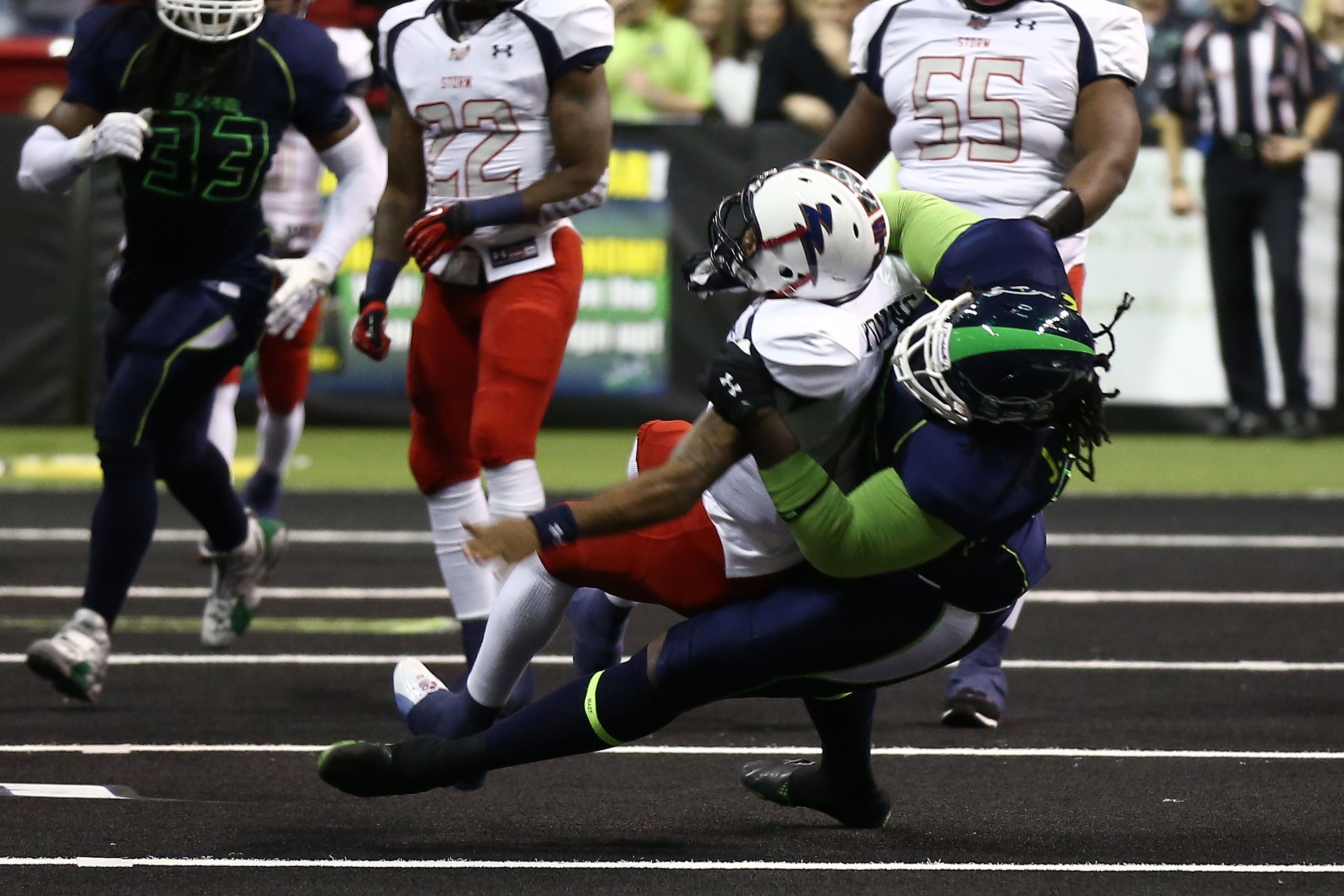 Nebraska Danger Football