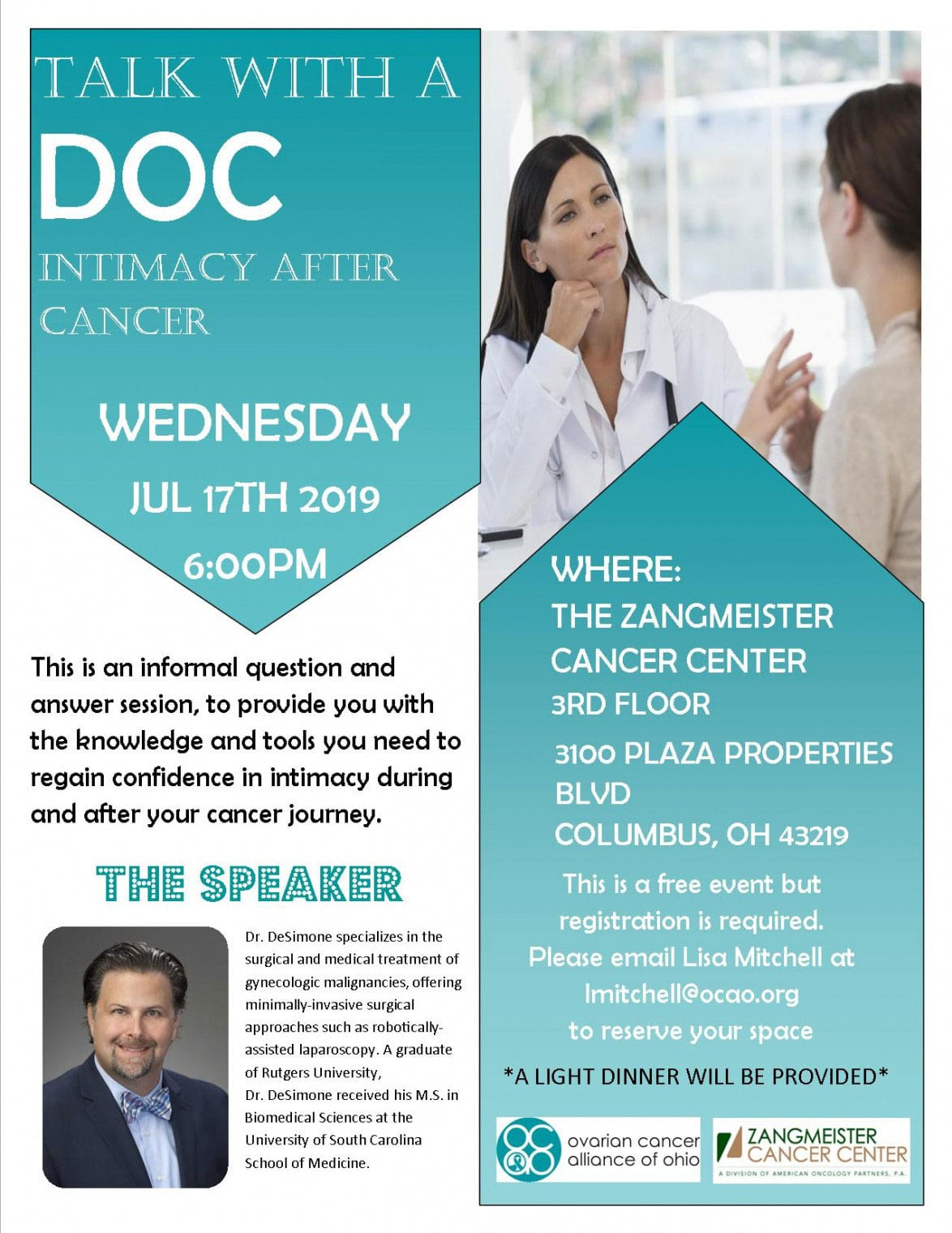 Talk With a Doc Intimacy After Cancer