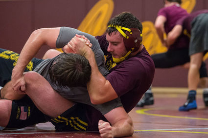 In the Room Part 1: Training Days with MSU-N Wrestling