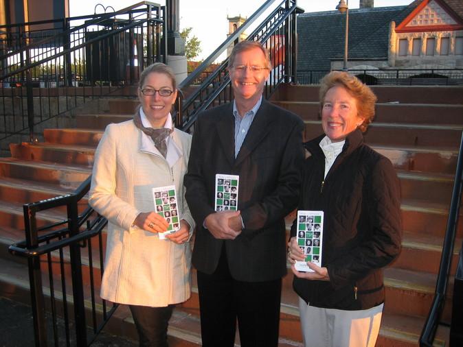 Kate Fleschler, Charlie Weidman, Nancy Vickers