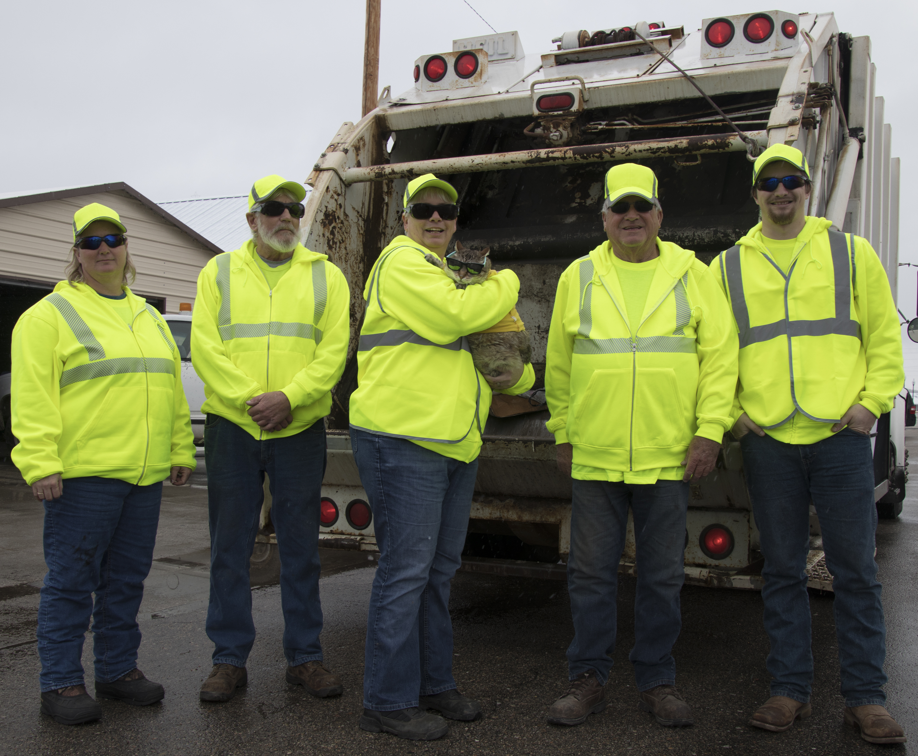 Pilger receives protective gear