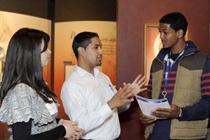Students Explore Career Opportunities at the Third Annual S.T.E.M. Expo at the Cradle of Aviation Museum.