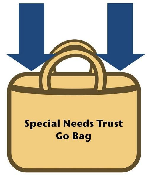 Special Needs Trust Go Bag