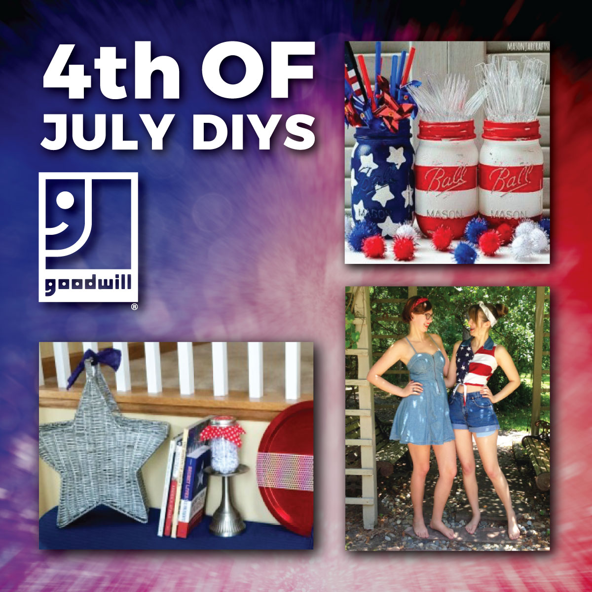 DIYs for Your Independence Day Celebration
