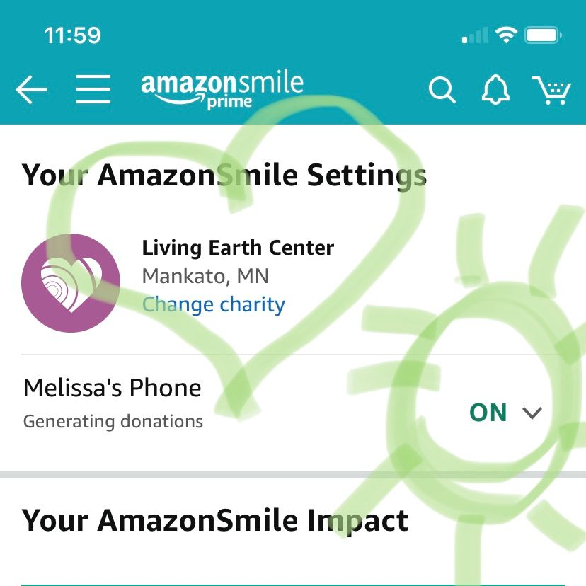 LEC Now Available to support through AmazonSmiles