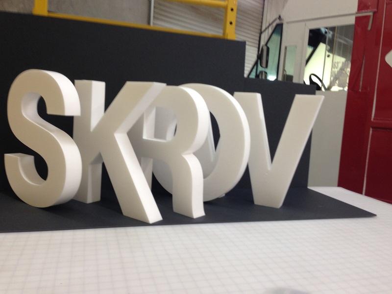 Foam Letters Signs 3d Building Letters Orange County Ca