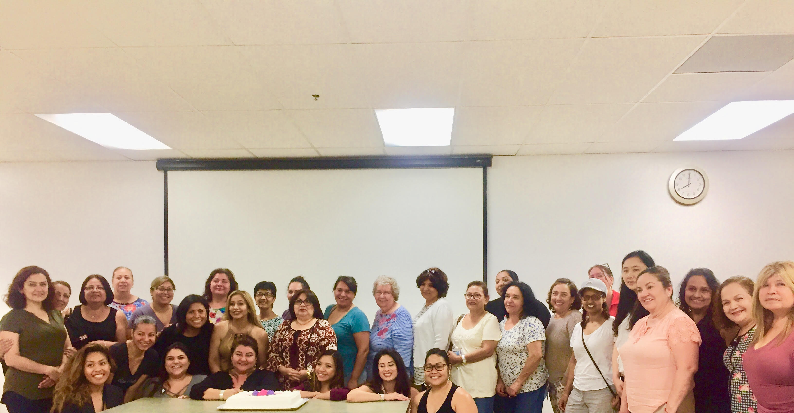 Child Care Providers Recognized at Recent EHS Meeting