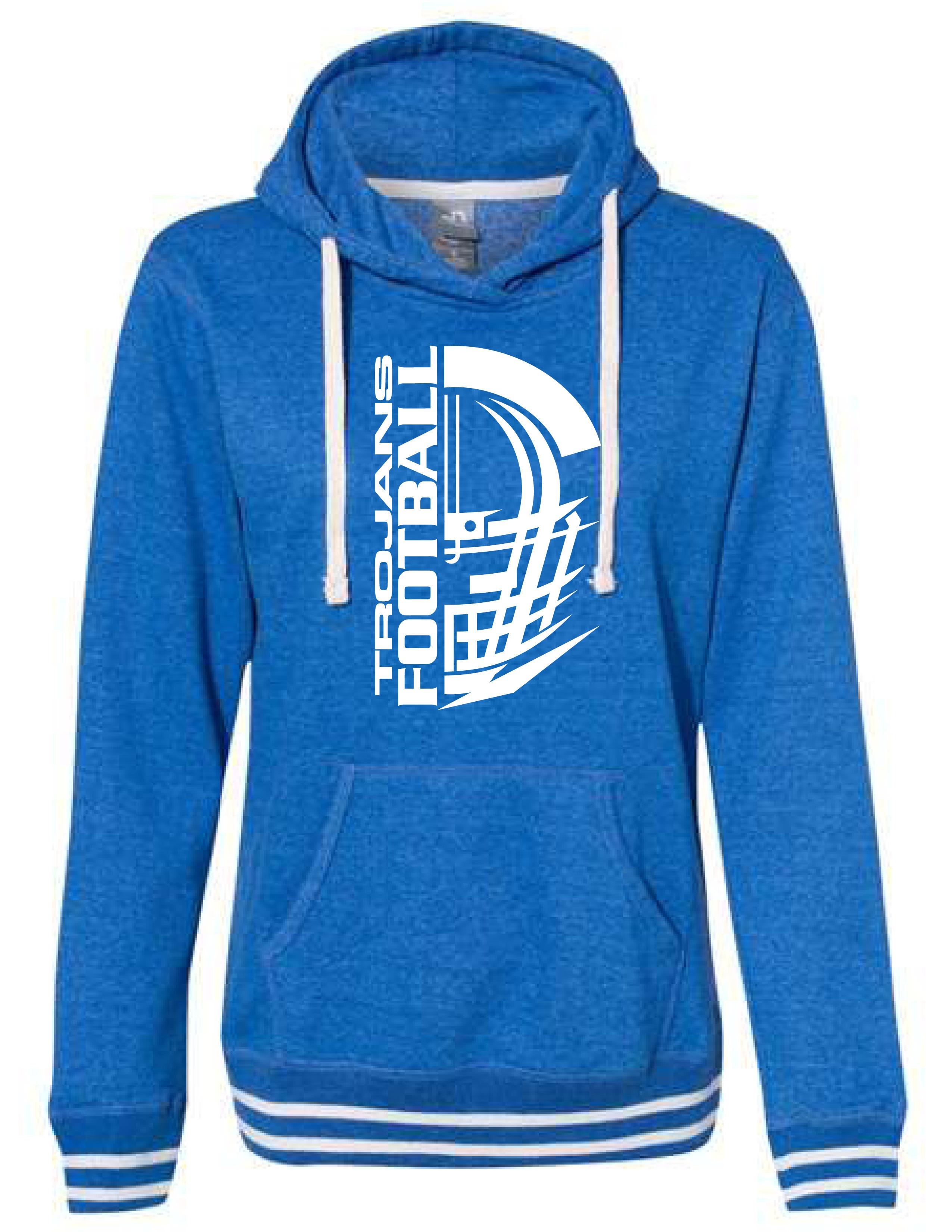 J. America - Women's Hooded Sweatshirt - (HELMET)