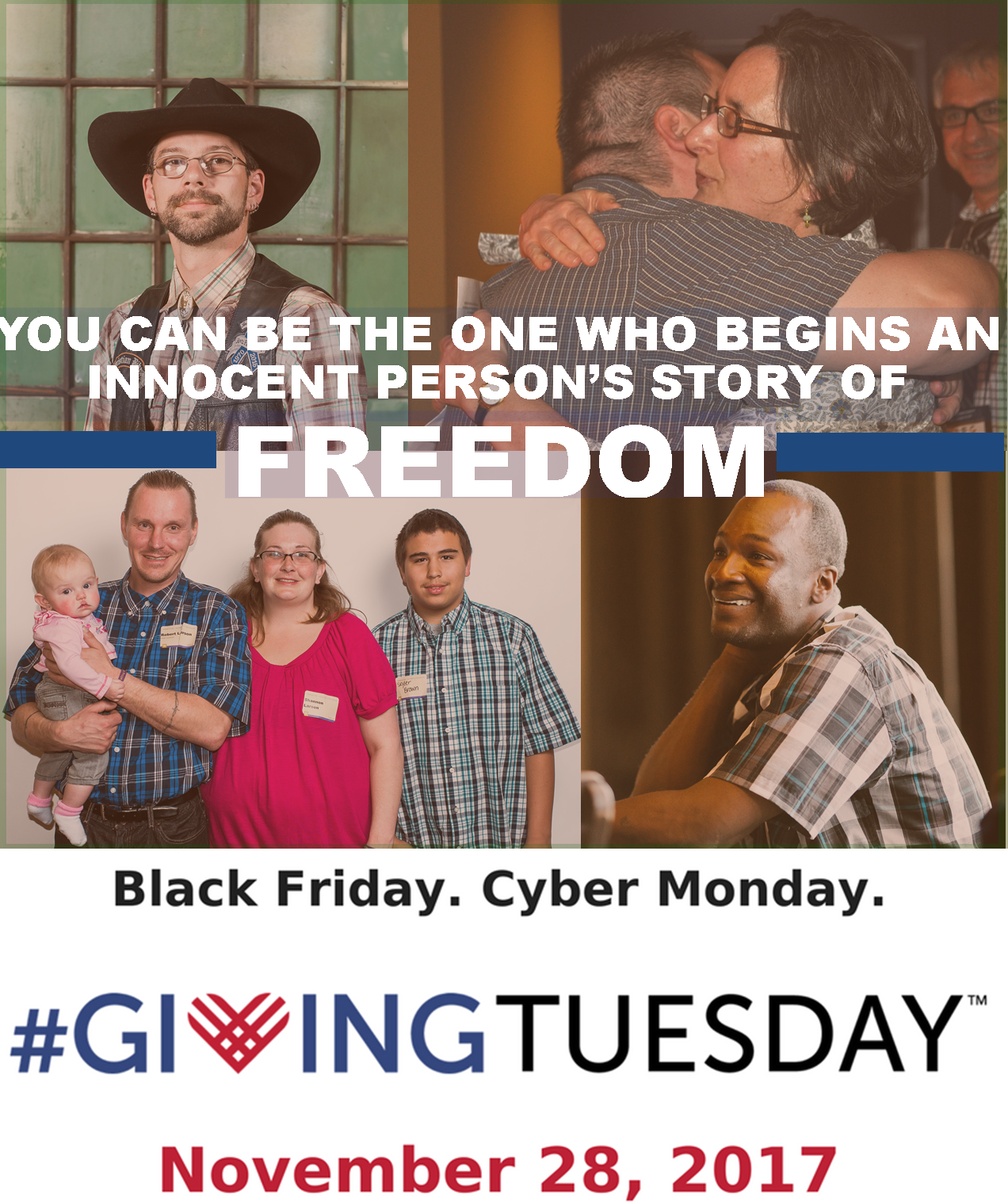 Begin a Freedom Story on #GivingTuesday