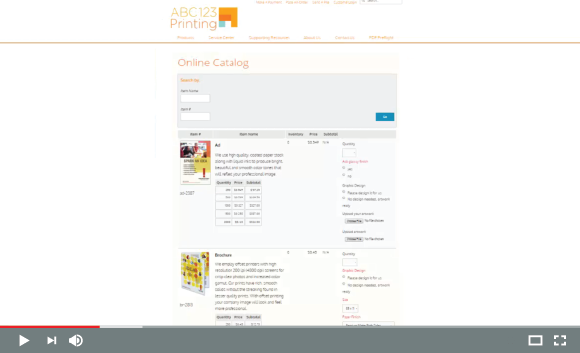 Catalogs / User Experience