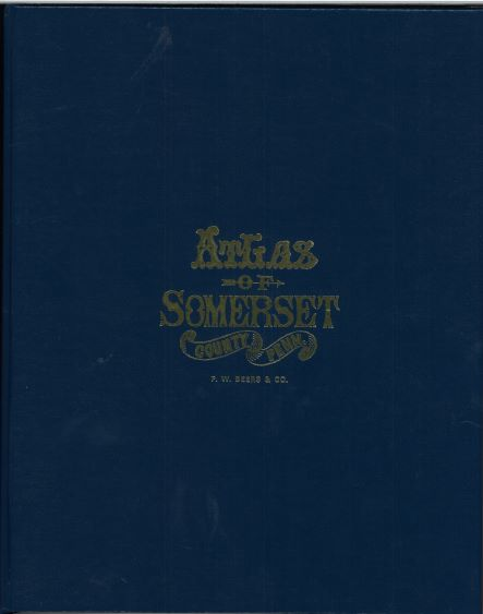 1876 Beers Atlas of Somerset County