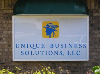 Illuminated Sign - Wall Cabinet - Unique Business Solutions