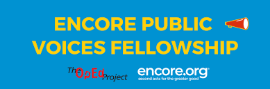Judy Cockerton, Encore Public Voices Fellow