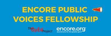Judy Cockerton, Encore Public Voices Fellow