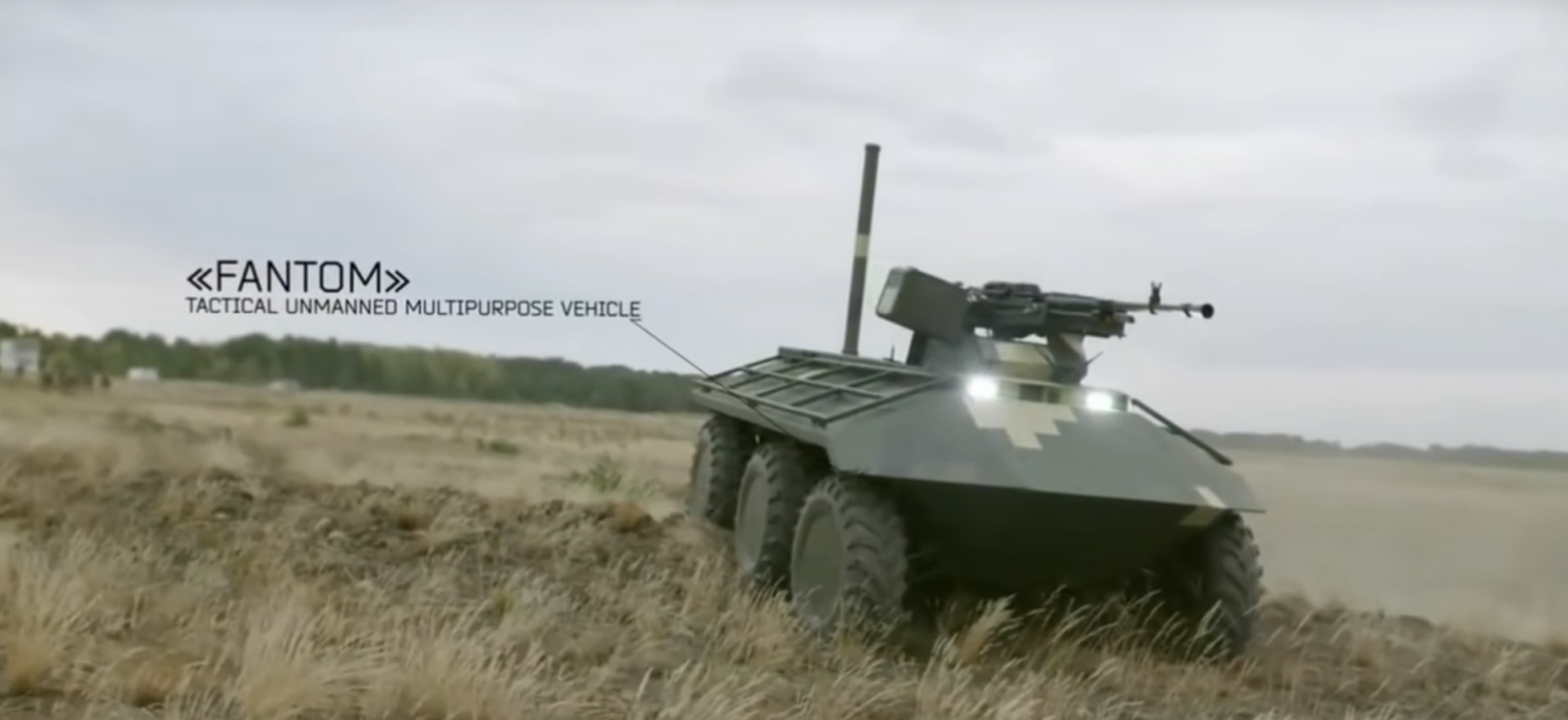 Ukraine is Developing Remote-Control Killer Robots to Wage War in Eastern Ukraine