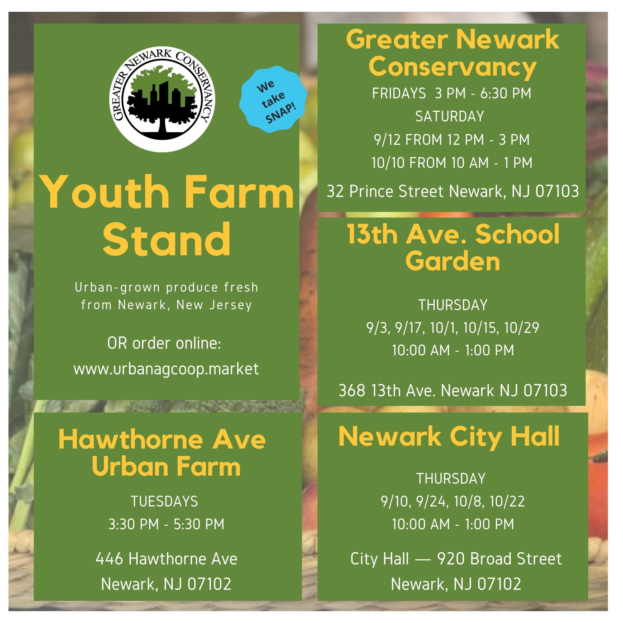 Youth Farm Stand
