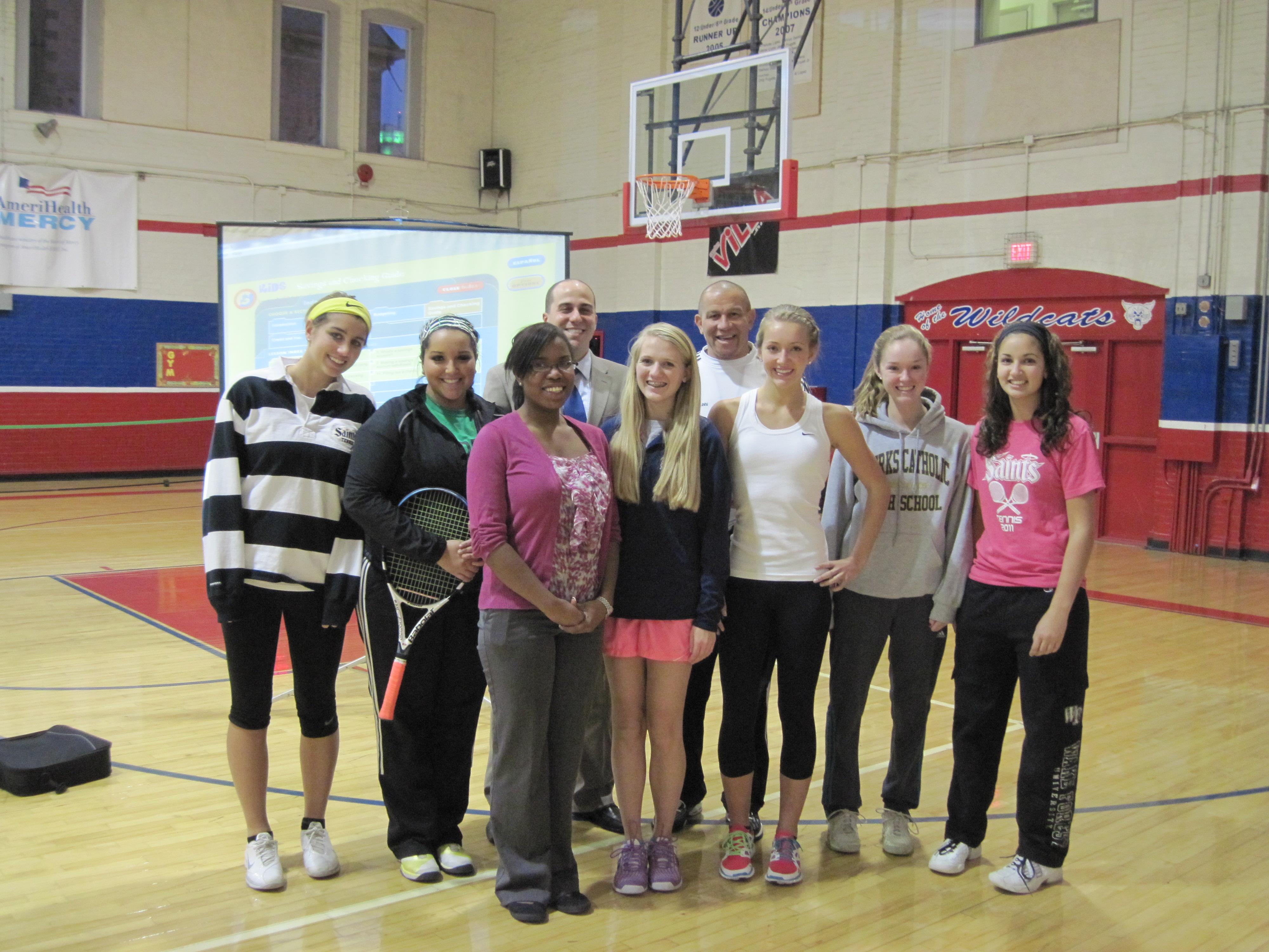 Set Point Tennis Mentors Olivet Boys & Girls Club