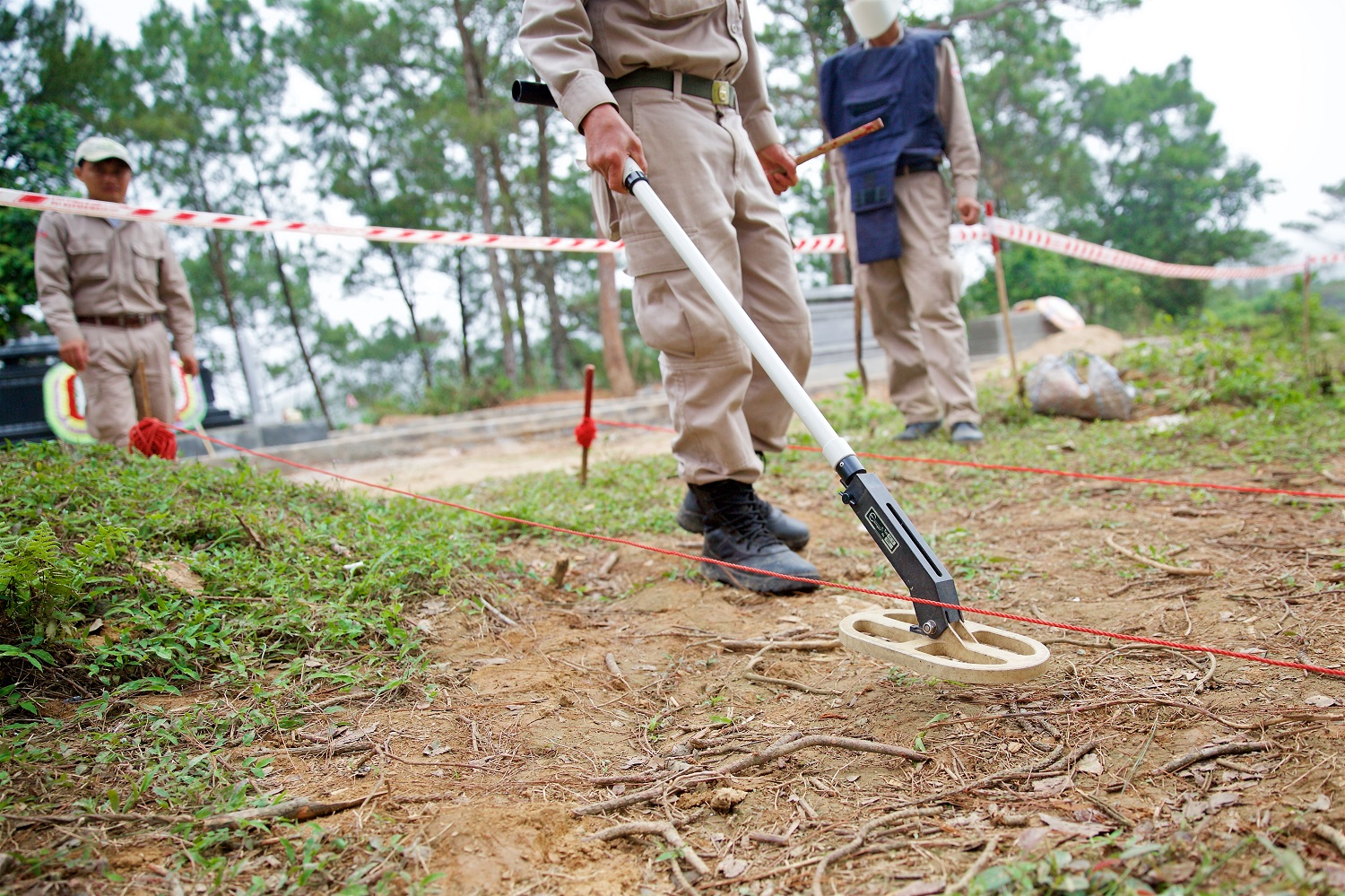 Humanitarian Mine Action in Central Vietnam