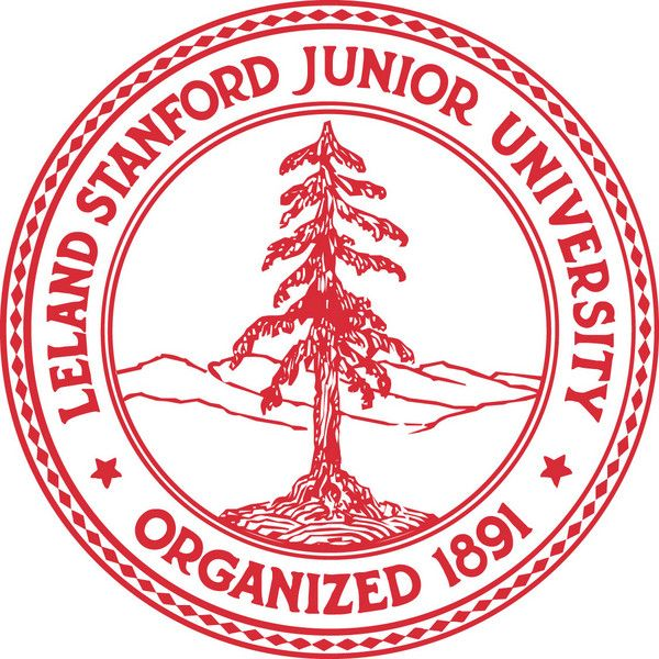 Y34386 - Carved 2.5-D HDU (Raised Outline or Engraved)  Wall Plaque of the Seal of Stanford University