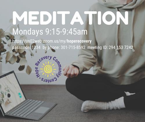 Hope Recovery - Meditation