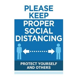 Social Distancing Free Downloadable Signs