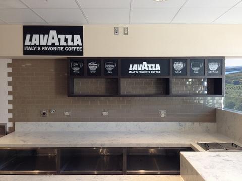 Interior restaurant signs Orange County