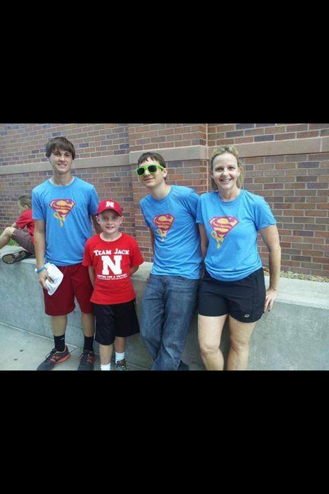 Sammy's Superheroes support Team Jack!