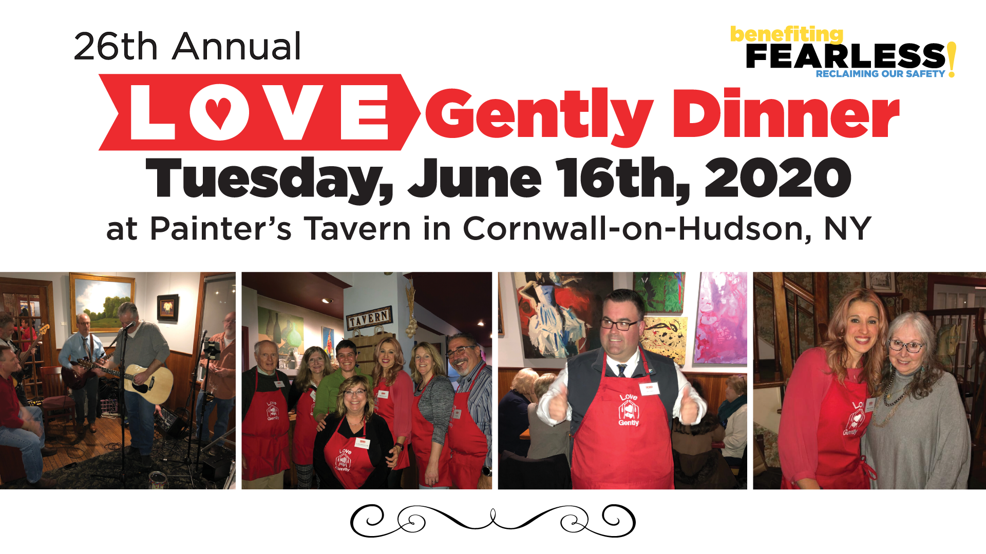 """26th Annual """"Love Gently"""" Dinner"""