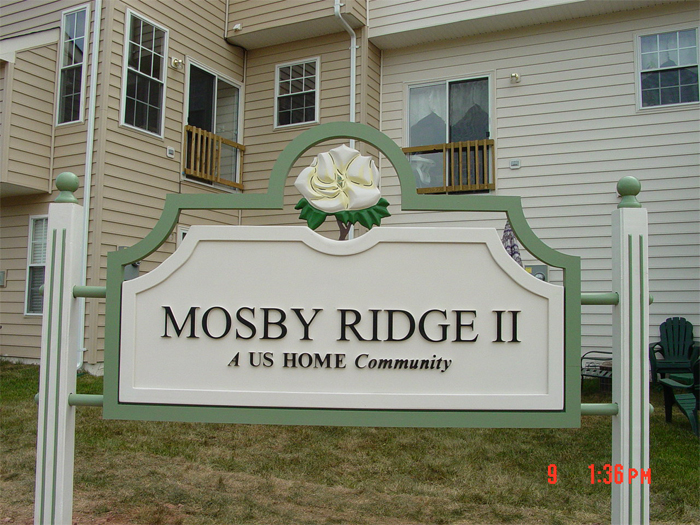 Mosby Ridge Community Sign