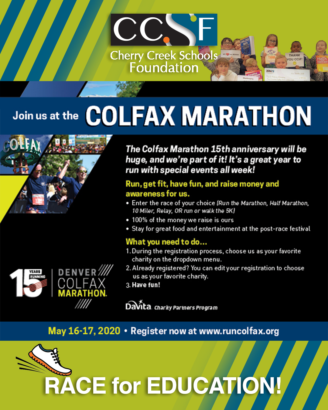 Run for Cherry Creek Schools Foundation