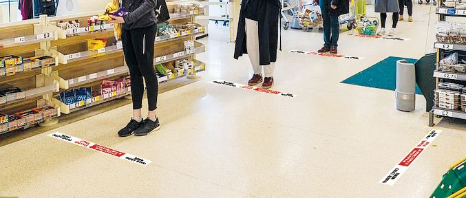 Social Floor Strips