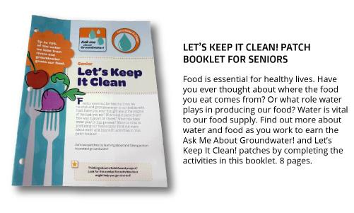 "Senior ""Let's Keep It Clean"" Patch Booklet"
