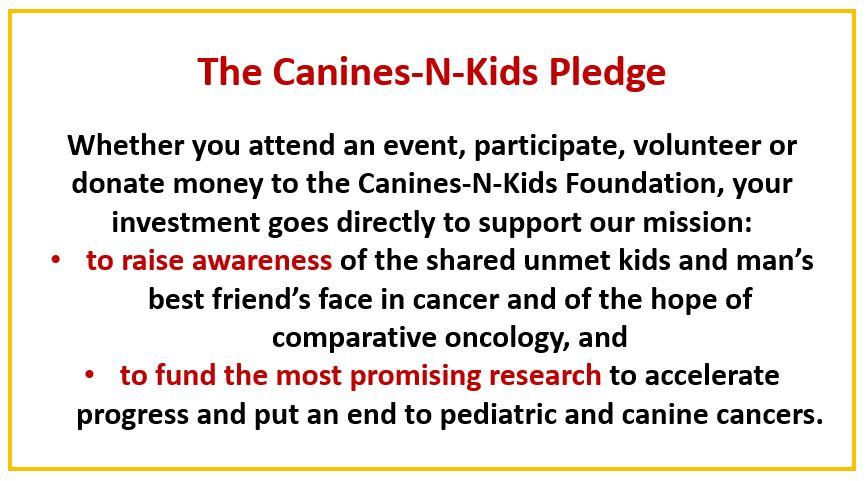 Canines-N-Kids Pledge