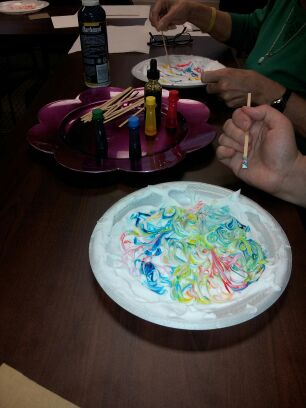 Oasis Brings Art Therapy to Pathways