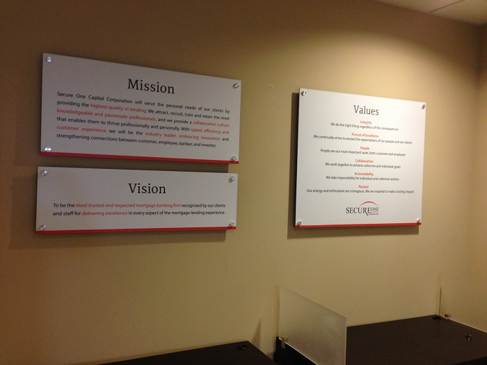 Sample corporate vision and mission statements